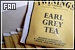 Earl Grey tea: